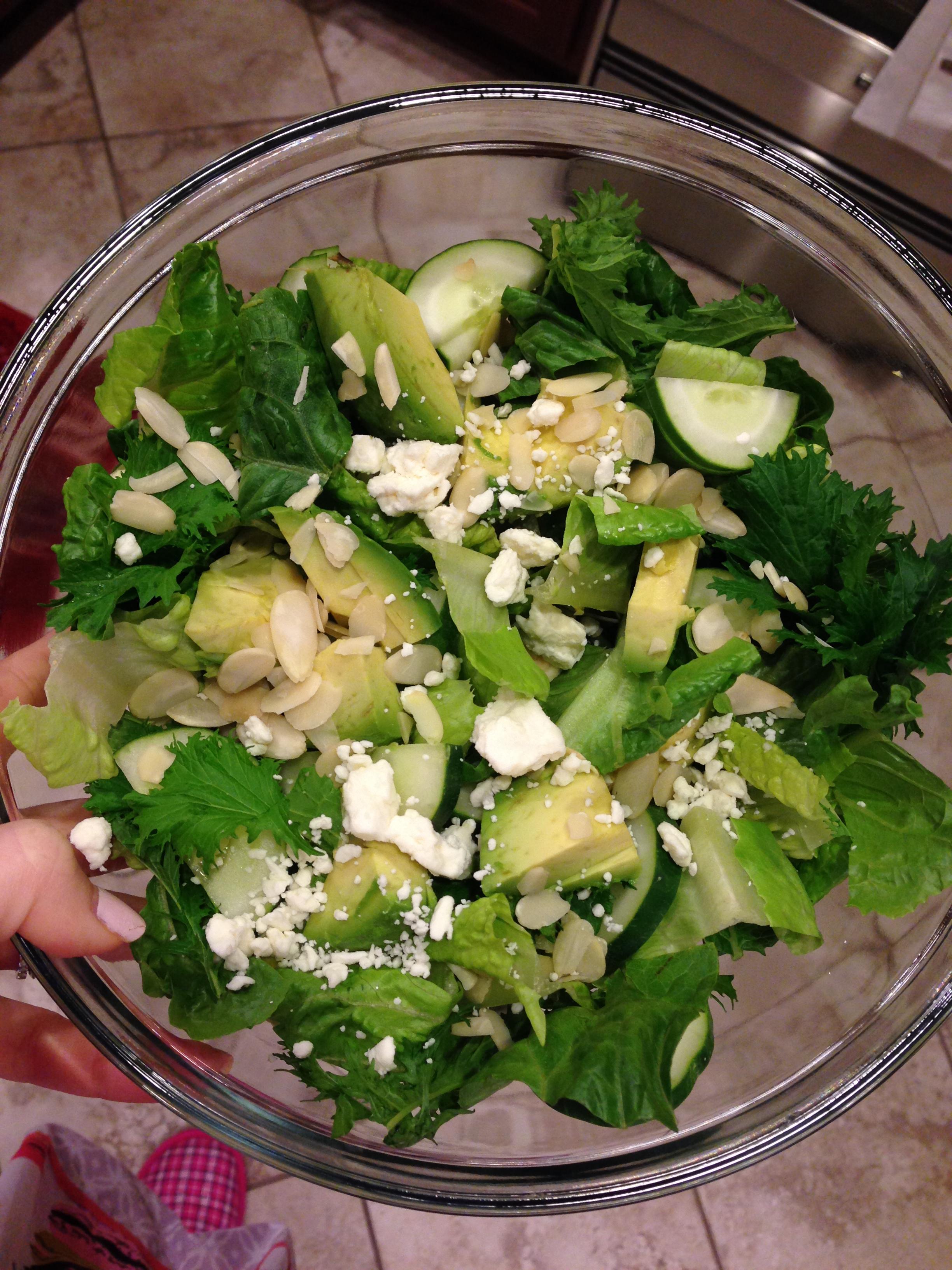 tower garden salad
